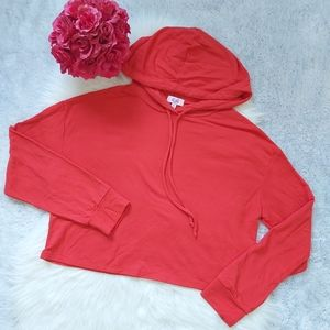 2/$15 Cali Baby Cropped Hooded Long Sleeve